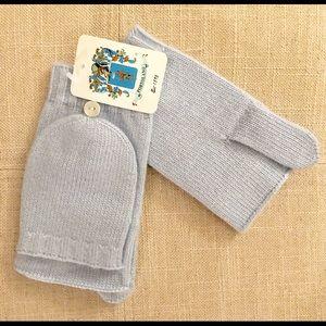 NWT Portolano gloves with mitten closure